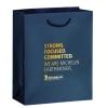 Gloss Laminated Euro Tote Bag w/ Macrame Rope Handles (8