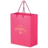 Breast Cancer Awareness Pink Matte Laminated Euro Tote Bag (8