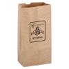 Natural Kraft Paper SOS Grocery Bag (Size 8 Lb.) - Flexo Ink