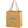 TSUNAMI - Washable Kraft Paper Grocery Tote Bag w/ Web Handle (12