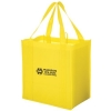 Heavy Duty Non-Woven Grocery Tote Bag w/ Insert (12