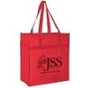 Heavy Duty Non-Woven Grocery Tote Bag w/ Insert (13