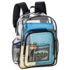 Heavy-Duty Cold Resistant Clear Vinyl Backpack (12 3/4
