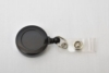 Round Plastic Clip-on Badge Reel