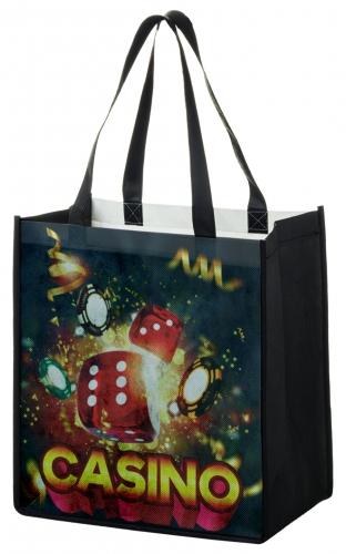 P.E.T. Non-Woven Dye Sublimated Tote Bag (12