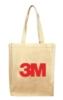 Natural Book Bag w/Shoulder Strap
