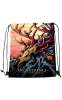 Polyester Drawstring Backpack w/Dye Sublimation (13