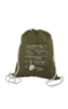 Colored Cotton Canvas Sports Backpack