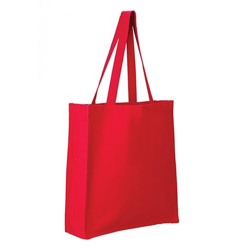 Q-TEES Canvas Gusset Shopper