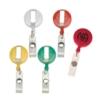 Round Retractable Badge Reel Coil Badge Clip