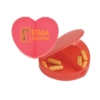 Heart Shaped Pillbox w/2 Sections