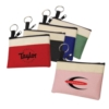 600D Polyester Two-Tone Coin Pouch