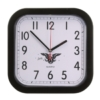 Rounded Square Wall Clock w/4 Color Process Printing (CMYK)