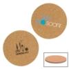 Cork & Fiberboard Round Beverage Coaster