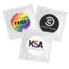 Individual Condom w/ Round 4 Color Process Printing Decal (CMYK)