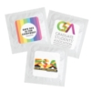 Individual Condom w/ Square 4 Color Process Printing Decal (CMYK)