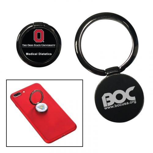 Metal Cell Phone Ring Holder & Stand