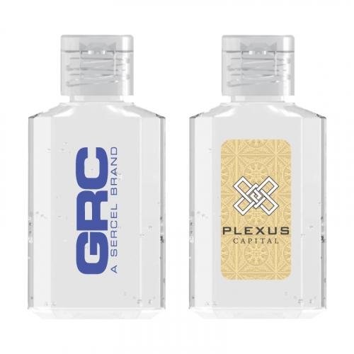 2 oz. 70% Square Bottle Antibacterial Hand Sanitizer Gel