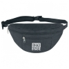 600D Polyester Double Zipper Fanny Pack