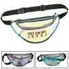 Clear Reflective Holographic Fanny Pack