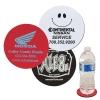 Round Soft Rubber & Jersey Skid Resistant Neoprene Coaster
