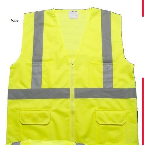 ANSI 2 Safety Vest w/ Pockets