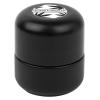 Glass Cannabis Jar, Black Matte, 2oz. Size w/ Child-Resistant Lid