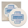 CoasterStone Round Absorbent Stone Coaster - Single (4 1/4