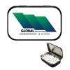 Large Black Mint Tin w/Full-Color Custom Label