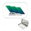 Large White Mint Tin w/Full-Color Custom Label