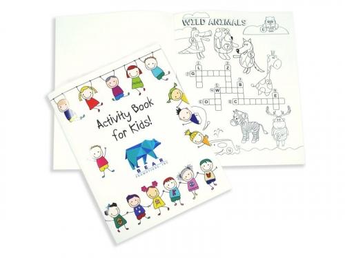 Children's Travel Activity Book