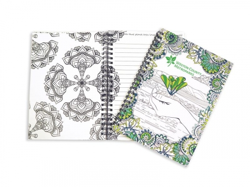 Coloring Journal with Quotes