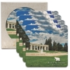 CoasterStone Square Absorbent Stone Coaster - 4 Pack (4 1/4