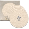 Victorian Lace CoasterStone Absorbent Stone Coaster - 4 Pack (4 1/4