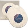 Greek Key CoasterStone Absorbent Stone Coaster - 4 Pack (4 1/4