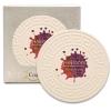 Greek Key CoasterStone Absorbent Stone Coaster - Single (4 1/4