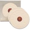 Victorian Lace CoasterStone Absorbent Stone Coaster - 2 Pack (4 1/4