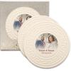 Greek Key CoasterStone Absorbent Stone Coaster - 2 Pack (4 1/4