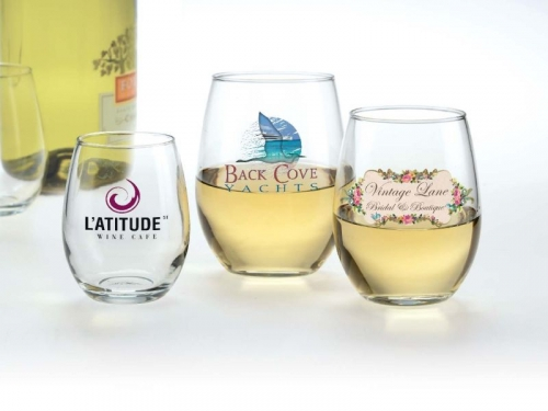 15 oz. Stemless White Wine