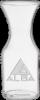 1/2 Liter Decanter - Deep Etched