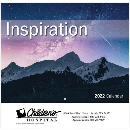 2022 Inspiration Wall Calendar - Stapled