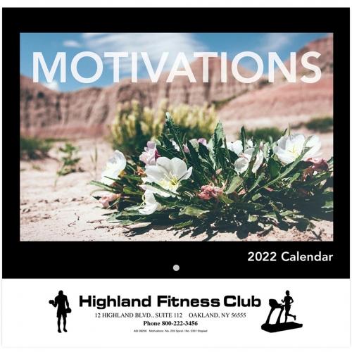2022 Motivations Wall Calendar - Stapled