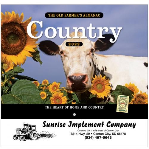 2022 The Old Farmer's Almanac® Country - Stapled