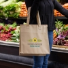 Non-Woven Insulated Zippered Grocery Tote