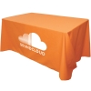 Flat 3-sided Table Cover - fits 4 foot standard table