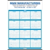 2022 Single Sheet Wall Calendar - Full Year View