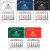 2022 House Vinyl Adhesive Mini Stick Calendar