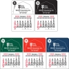 2022 Barn Vinyl Adhesive Mini Stick Calendar