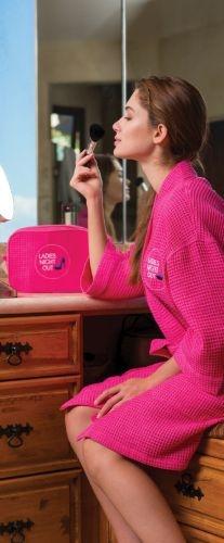 Travel Sized Waffle Cosmetic Bag