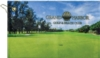 Subli-Cotton Velour Golf Towel - Trifold Hook Grommet